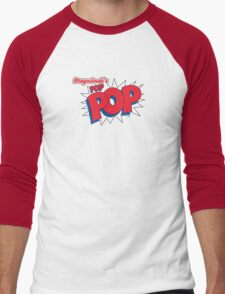 Magnitude's POP-POP! Men's Baseball ¾ T-Shirt