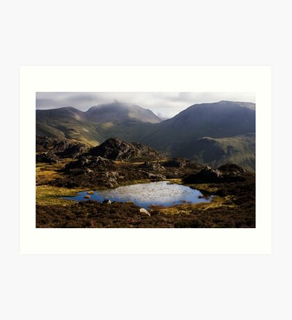 Haystacks, Lakeland Fells Art Print