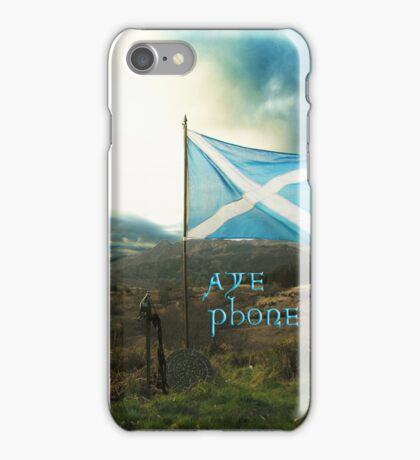 the scottish aye phone cover! iPhone Case/Skin