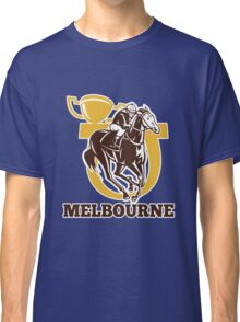horse race jockey racing champion cup Classic T-Shirt