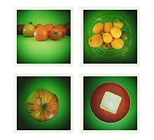 Green Kitchen  Photographic Print