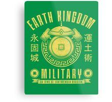 Avatar Earth Kingdom Metal Print