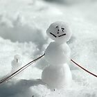 Mini Snowman by teresalynwillis