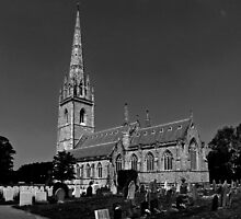 The Marble Church (St.Margaret's Church), Bodelwyddan by Yampimon