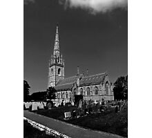 The Marble Church (St.Margarets Church), Bodelwyddan Photographic Print