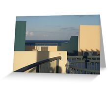 Architecture Study #1 by Robert Walmsley-Evans Greeting Card