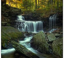 R.B. Ricketts Falls (version I) Oct 2011 by Aaron Campbell