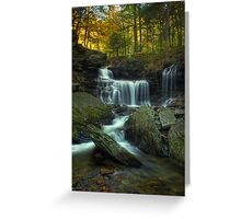 R.B. Ricketts Falls (version I) Oct 2011 Greeting Card