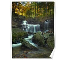 R.B. Ricketts Falls (version I) Oct 2011 Poster