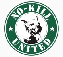 No-Kill United - ES NO-KILL STARB (STICKER) by Anthony Trott