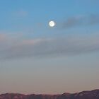 Blood Moon Over the Sandia Mountains by JanetBethuy