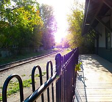 Unionville Train Station by MarianBendeth