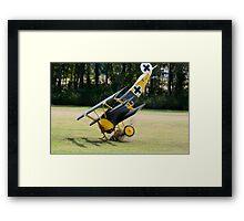 The Hard Landing Framed Print