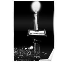 FIRST CLASS Street Lamp Poster