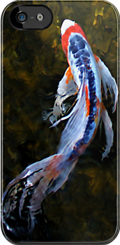 Koi - iPhone Case by Kristina Gale