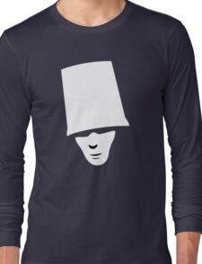 Buckethead Long Sleeve T-Shirt