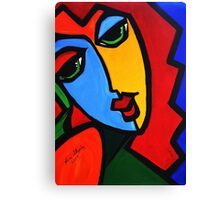 NEW  PICASSO BY NORA  Puzzle Girl Canvas Print