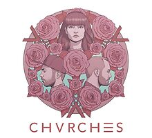 CHVRCHES Limited Edition Poster #2 - Every Eye Open by kashkhan7