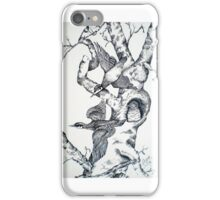 QUILL PEN  BIRDS iPhone Case/Skin