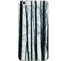 Winter Trees Abstract iPhone Case/Skin