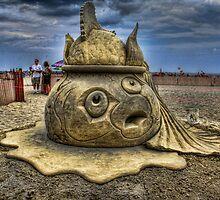 What the.. I think I need a bigger fish bowl... by CJ Fuchs