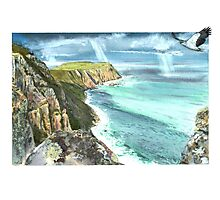 Cape Raoul and Sea Eagle Photographic Print