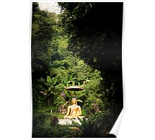 The Outdoor Thai Statue Poster