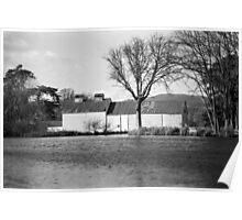 Pond & Oast House, Tasmania Poster