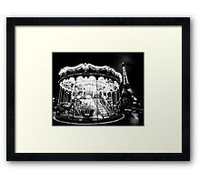 Le Tour Eiffel et le Carrousel de Paris Framed Print