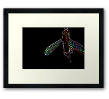Fly, lets fly away 2 of 3 Framed Print
