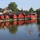 Old city of Porvoo by tanmari