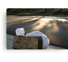 Dump Garbage Canvas Print