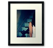 Parts of me abandoned Framed Print