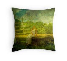 Peaceful Texture Throw Pillow