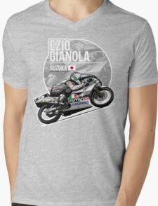 Ezio Gianola - 1989 Suzuka Mens V-Neck T-Shirt