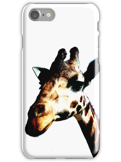 Giraffe iphone case by andytechie
