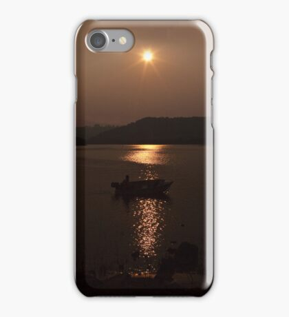 Fishing for Gold iPhone Case/Skin