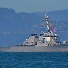 USS Milius by Bob Moore