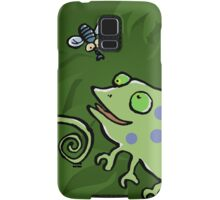 chameleon and fly Samsung Galaxy Case/Skin