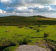 King's Tor, Dartmoor, England by Giles Clare