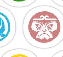 Shinobi Wat-Aah! Mons Mini-Stickers Sticker