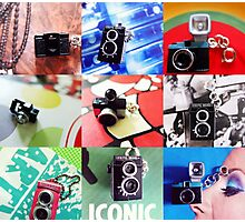 Mini Camera Collection Photographic Print