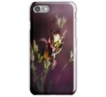red magic day lilies 4 iPhone Case/Skin