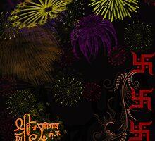 Festival Season-Diwali greetings by RidhimaArt