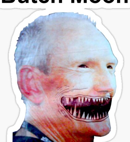 Butch Moon Sticker