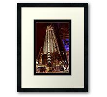 WTC Progress Report Framed Print