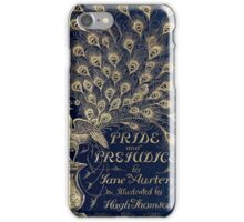 Pride and Prejudice Peacock Cover iPhone Case/Skin