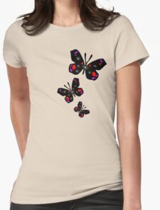 colorful butterfly vector graphic art T-Shirt
