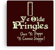 Little Britain - Ray McCooney's Pringles Canvas Print