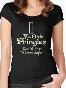 Little Britain - Ray McCooney's Pringles Women's Fitted Scoop T-Shirt
